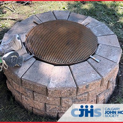 BURNCO's Fire Pit Donation to the Calgary John Howard Society